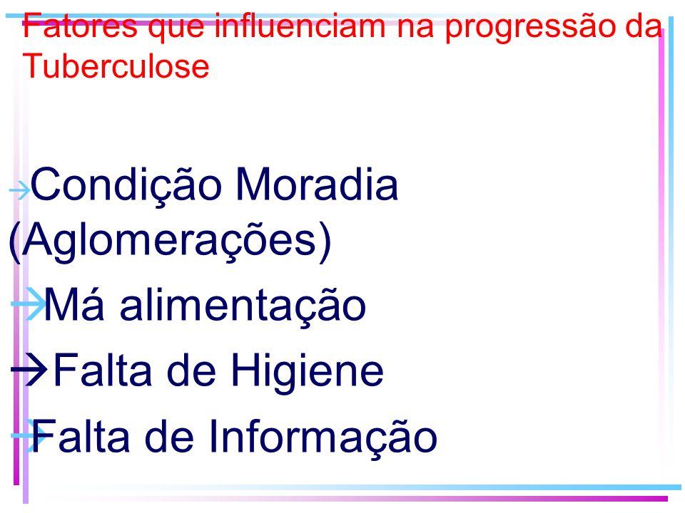 Fatores que influenciam na progressão da Tuberculose