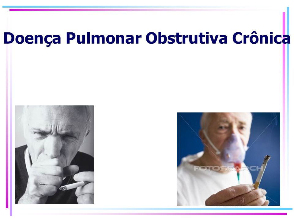 Doença Pulmonar Obstrutiva Crônica