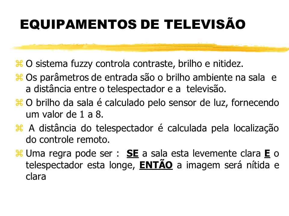 EQUIPAMENTOS DE TELEVISÃO