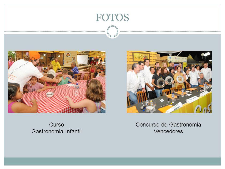 Concurso de Gastronomia