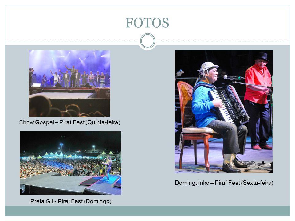 FOTOS Show Gospel – Piraí Fest (Quinta-feira)