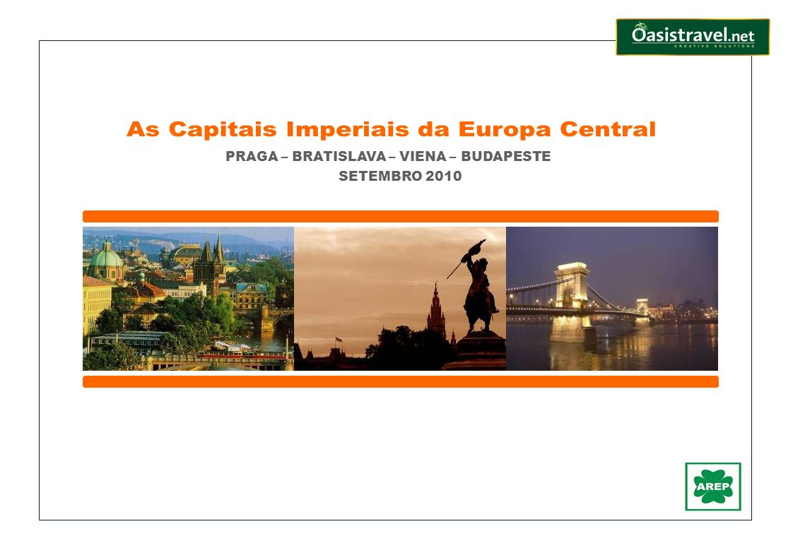 As Capitais Imperiais da Europa Central