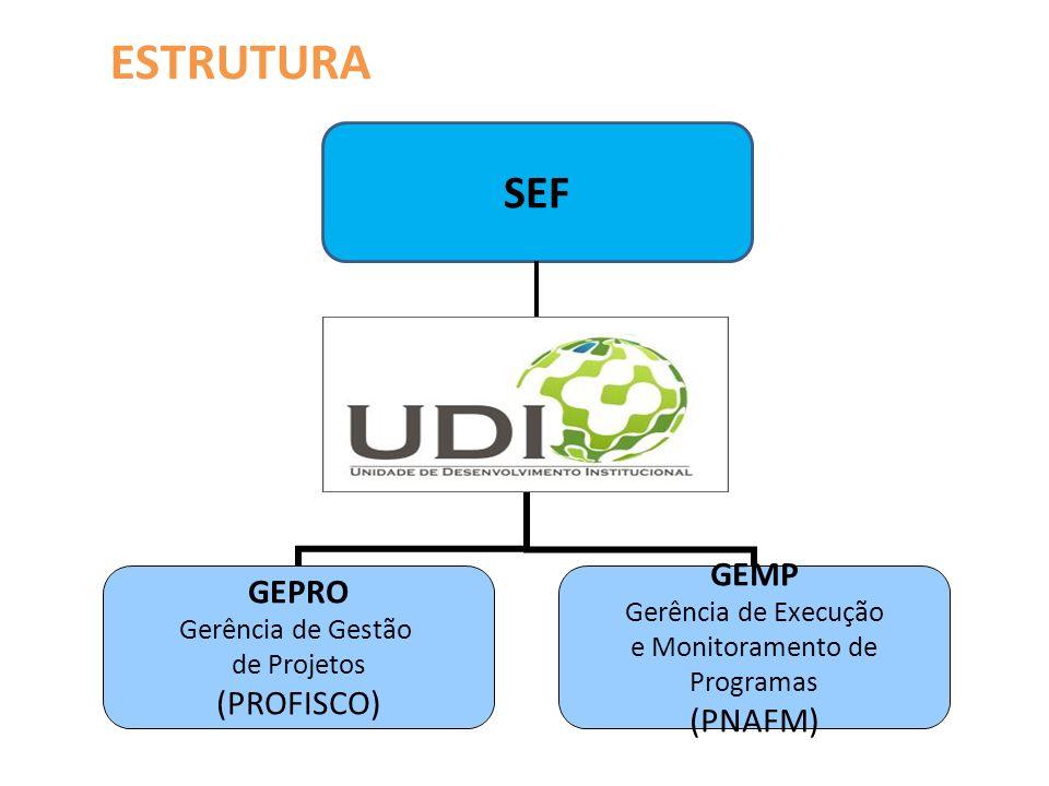 estrutura SEF