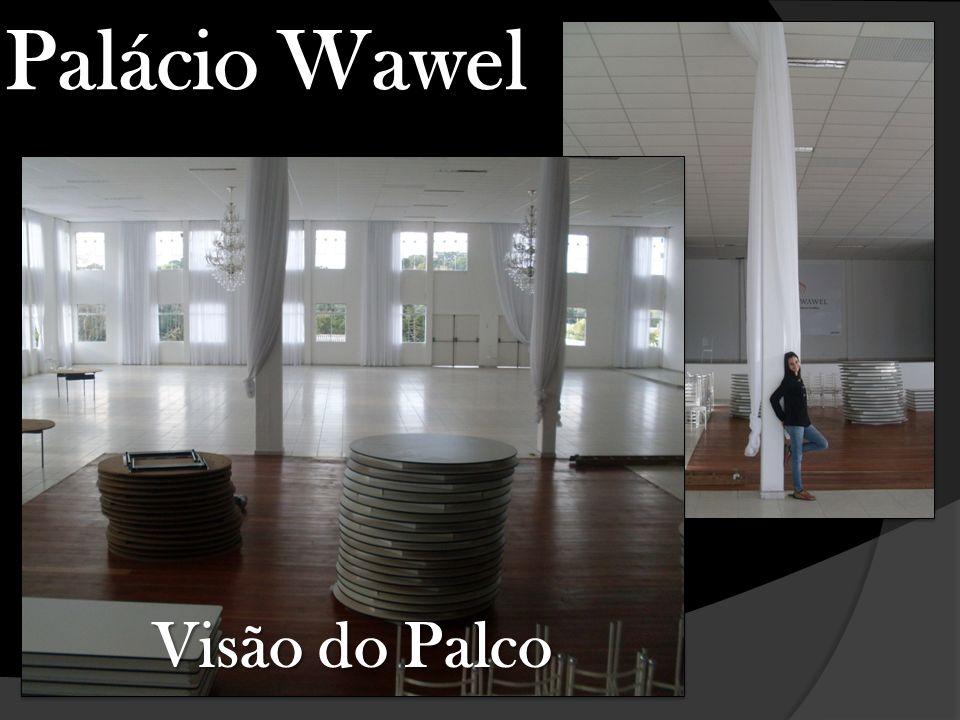 Palácio Wawel Visão do Palco