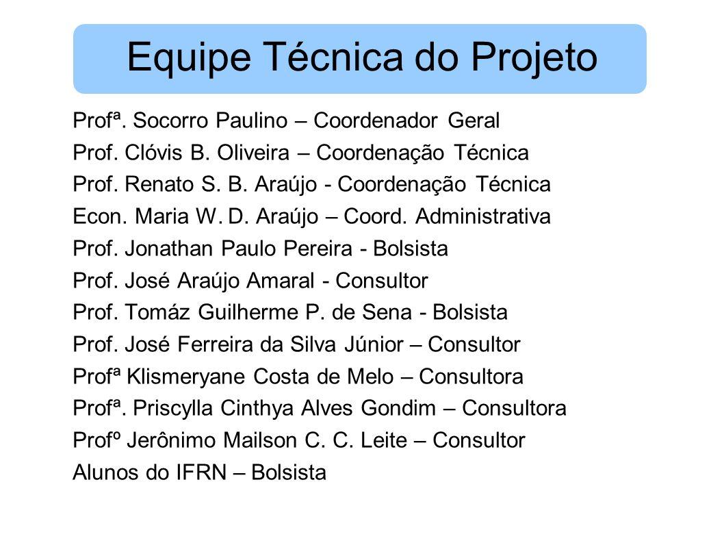 Equipe Técnica do Projeto