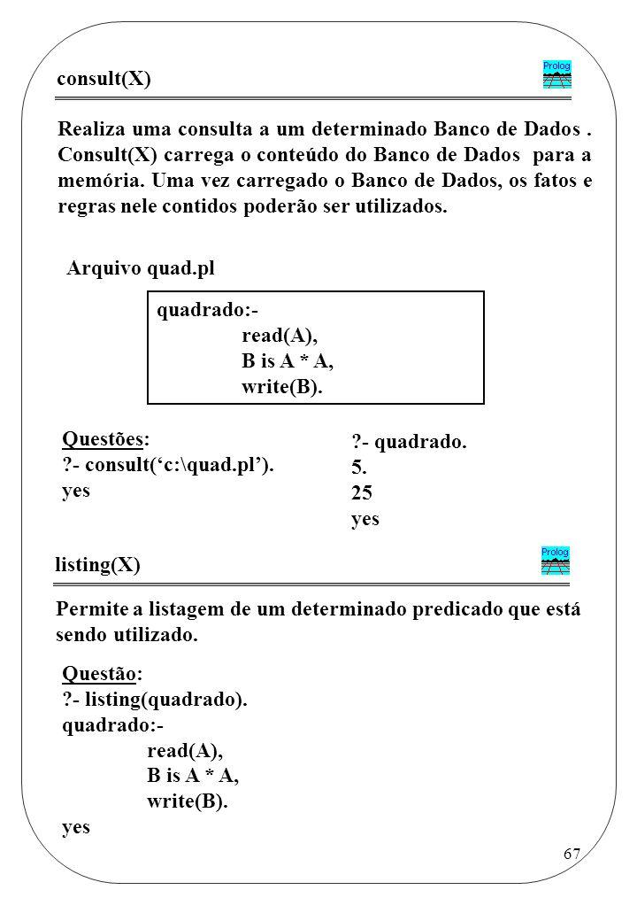 consult(X)