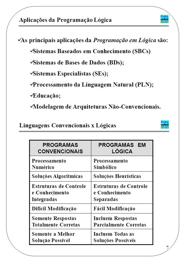 PROGRAMAS CONVENCIONAIS