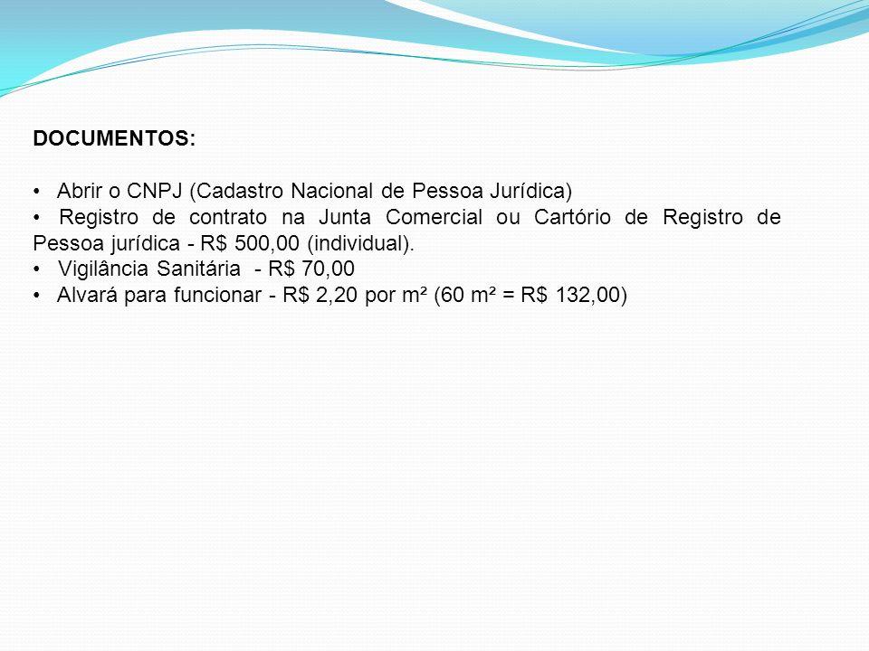 DOCUMENTOS: Abrir o CNPJ (Cadastro Nacional de Pessoa Jurídica)