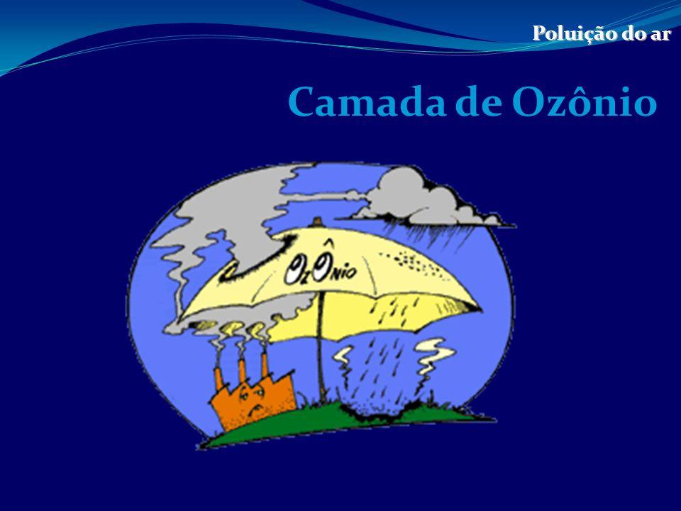 Poluição do ar Camada de Ozônio