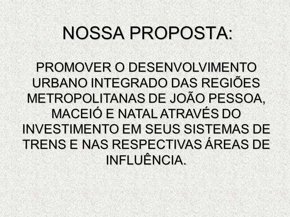NOSSA PROPOSTA: