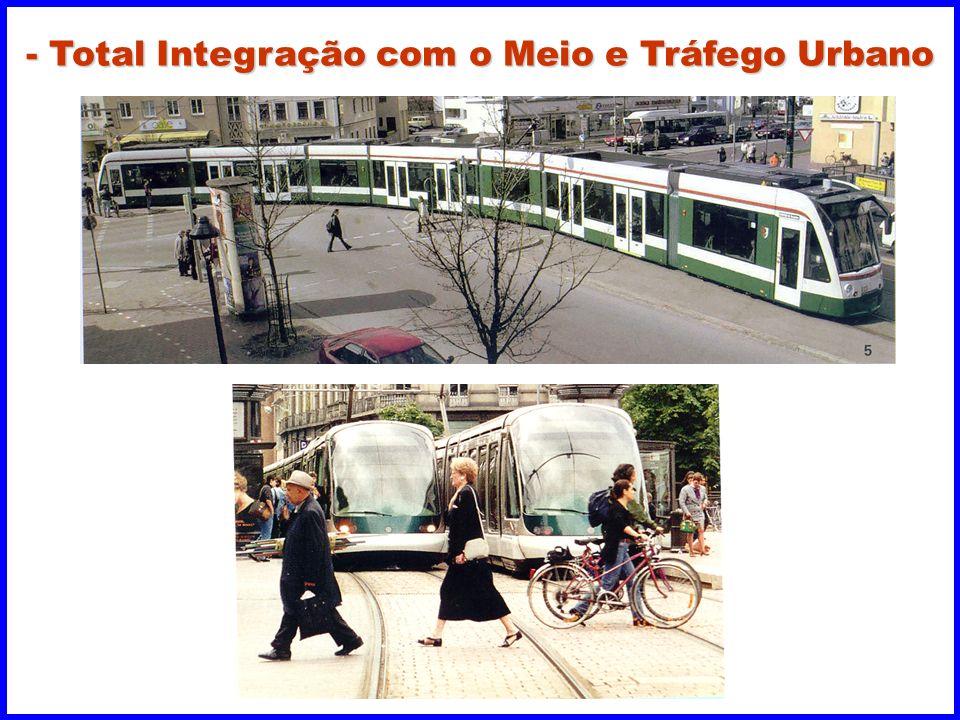 - Total Integração com o Meio e Tráfego Urbano