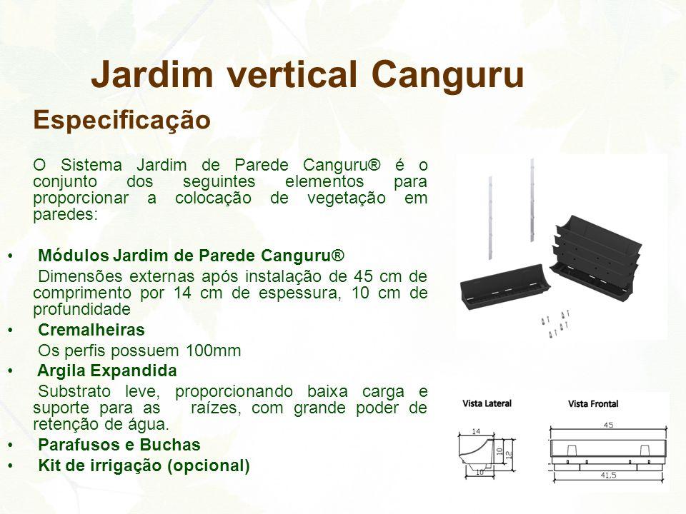 Jardim vertical Canguru