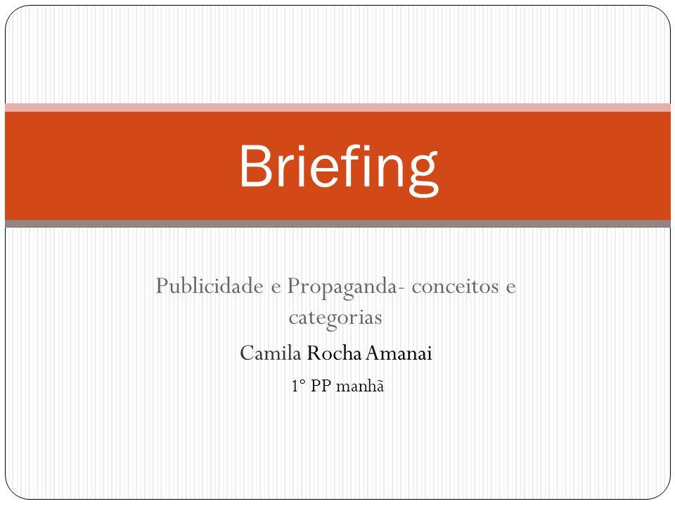 Publicidade e Propaganda- conceitos e categorias
