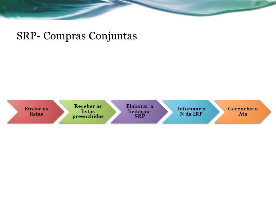 SRP- Compras Conjuntas
