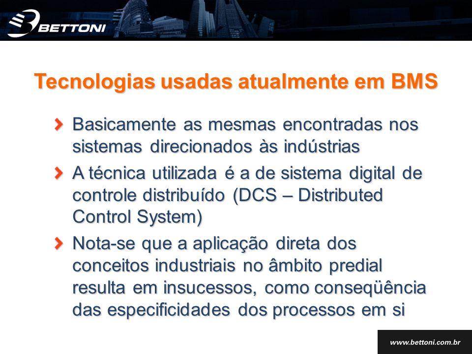 Tecnologias usadas atualmente em BMS