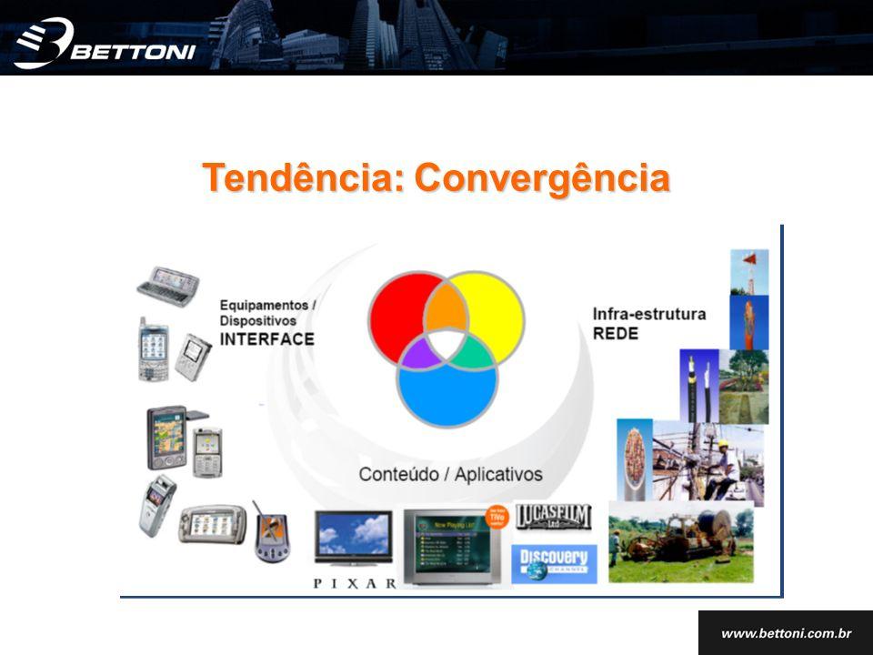 Tendência: Convergência