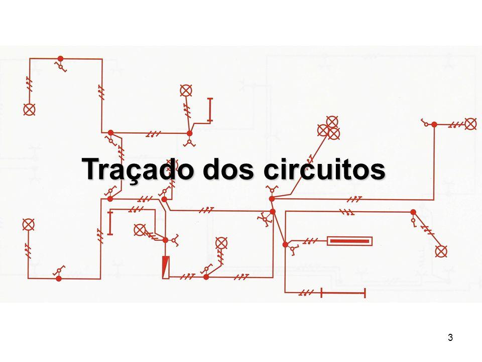 Traçado dos circuitos