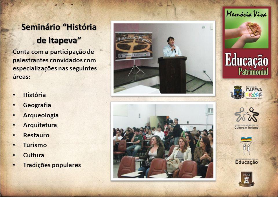 Seminário História de Itapeva