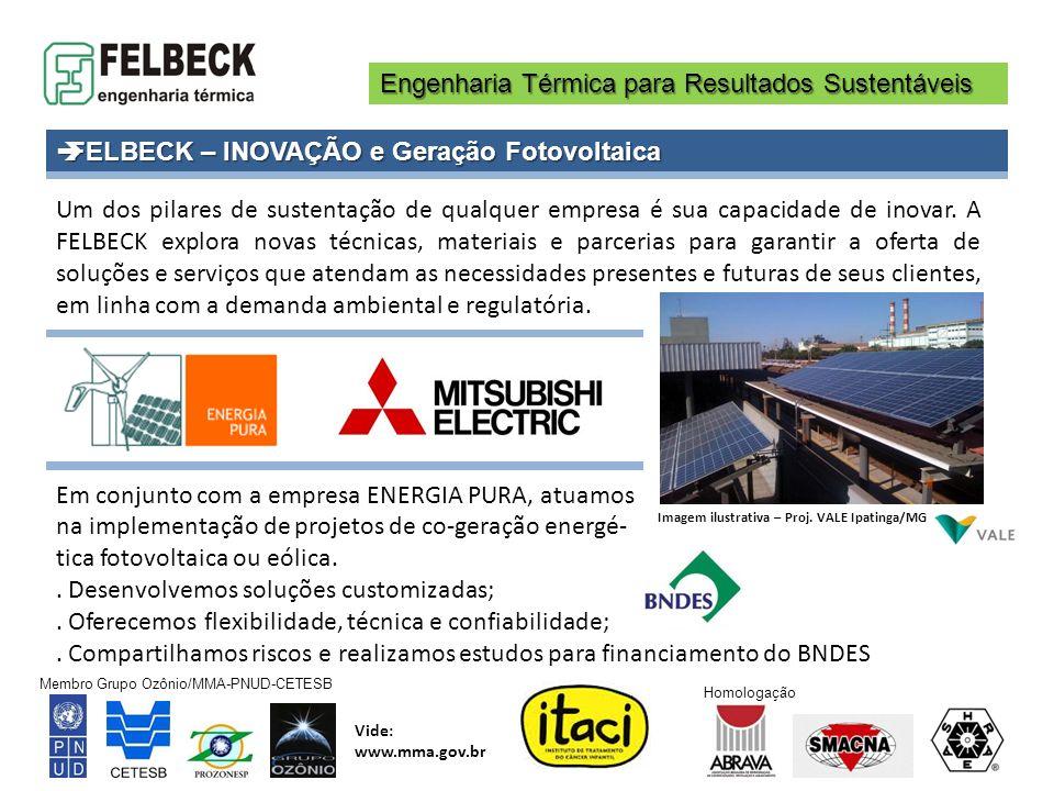 FELBECK – INOVAÇÃO e Geração Fotovoltaica