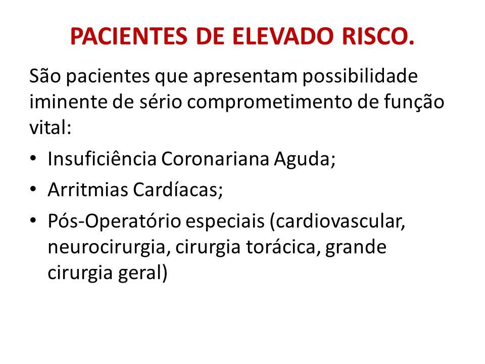 PACIENTES DE ELEVADO RISCO.