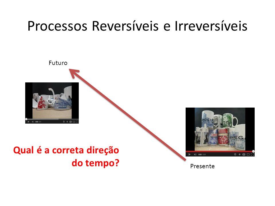 Processos Reversíveis e Irreversíveis