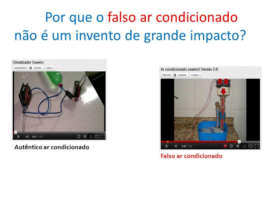 Por que o falso ar condicionado não é um invento de grande impacto