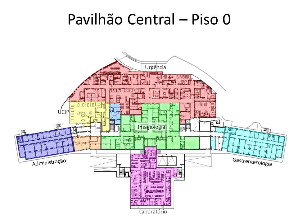 Pavilhão Central – Piso 0