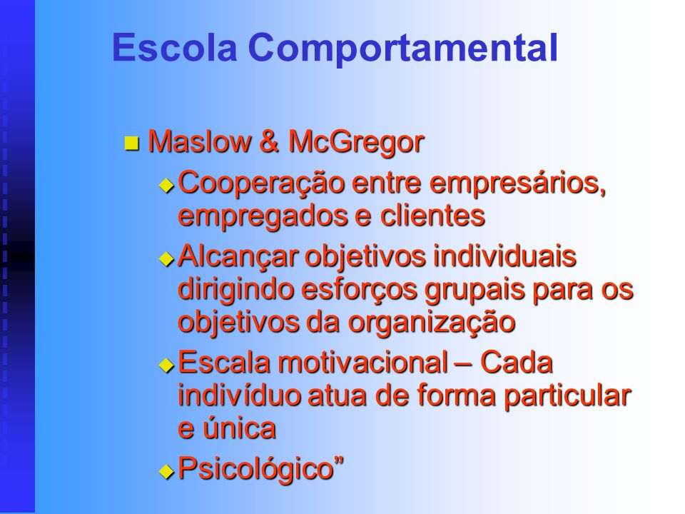 Escola Comportamental