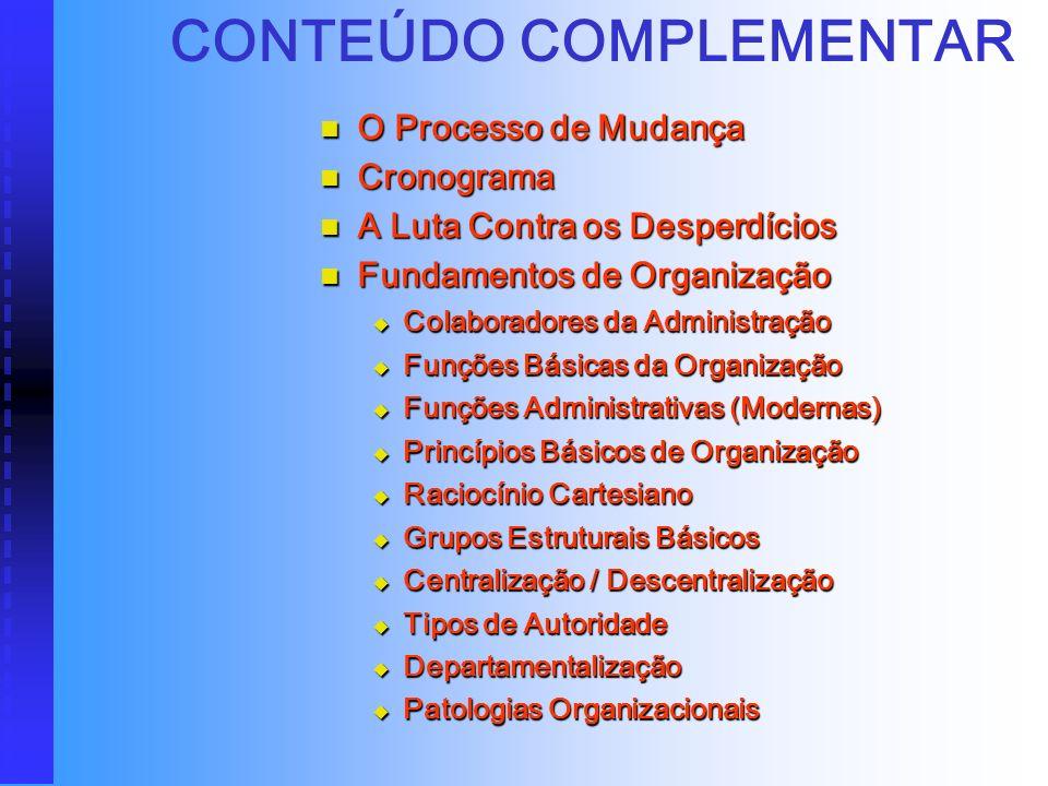 CONTEÚDO COMPLEMENTAR
