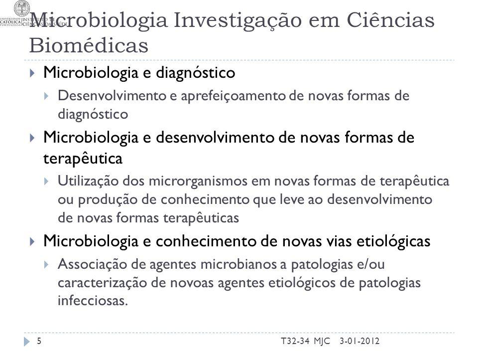 Microbiologia Investigação em Ciências Biomédicas