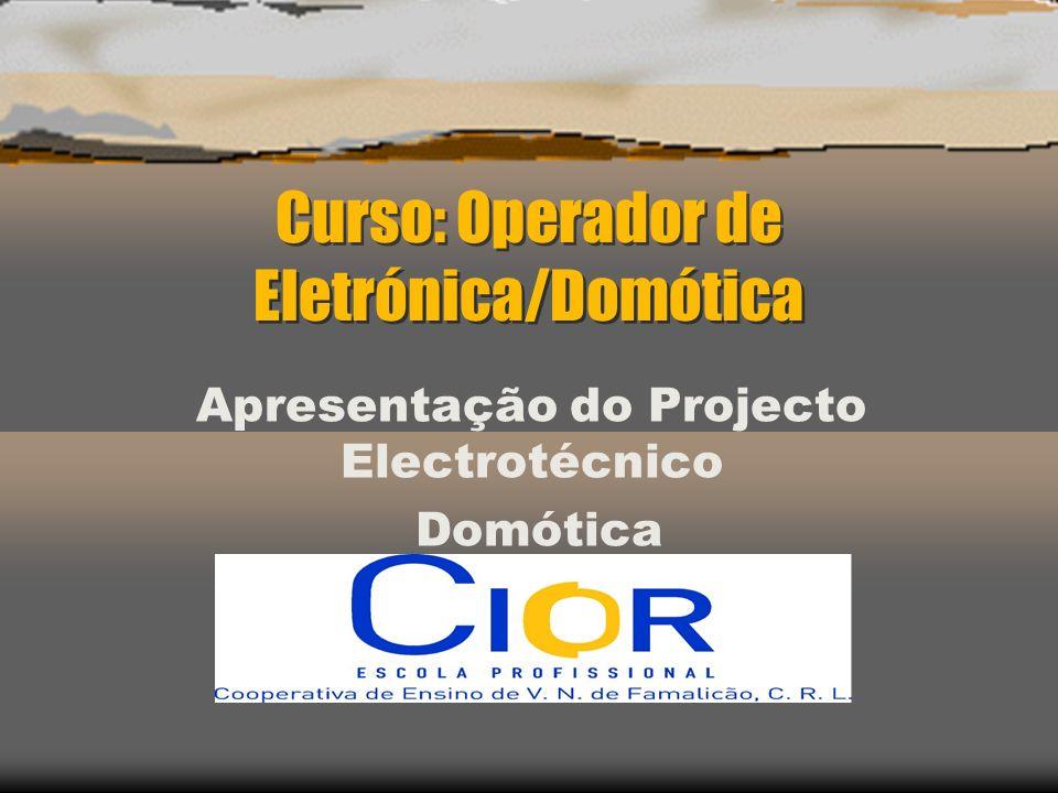 Curso: Operador de Eletrónica/Domótica