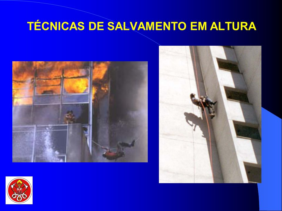 TÉCNICAS DE SALVAMENTO EM ALTURA