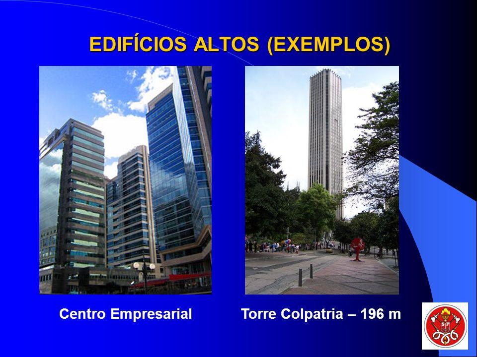 EDIFÍCIOS ALTOS (EXEMPLOS)