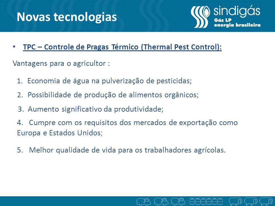 Novas tecnologias TPC – Controle de Pragas Térmico (Thermal Pest Control): Vantagens para o agricultor :