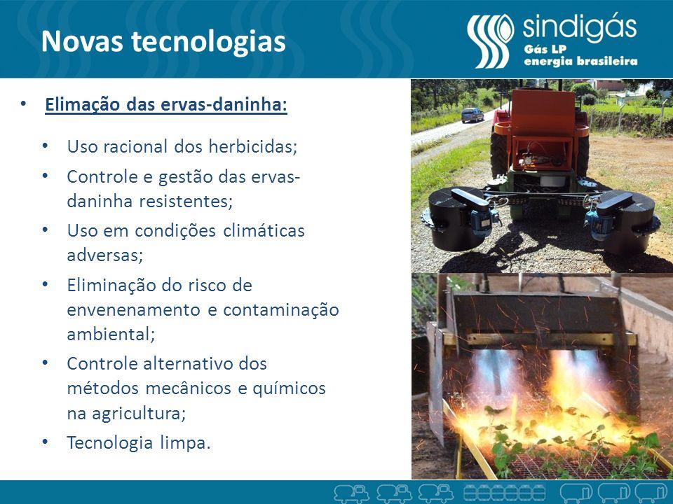 Novas tecnologias Elimação das ervas-daninha:
