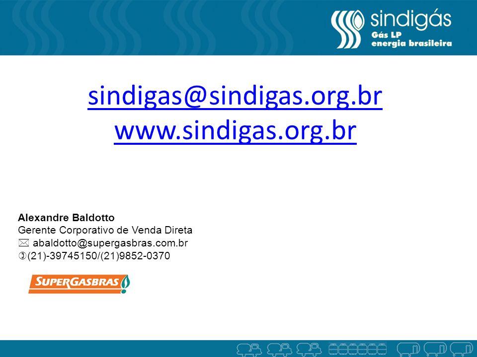 sindigas@sindigas.org.br www.sindigas.org.br