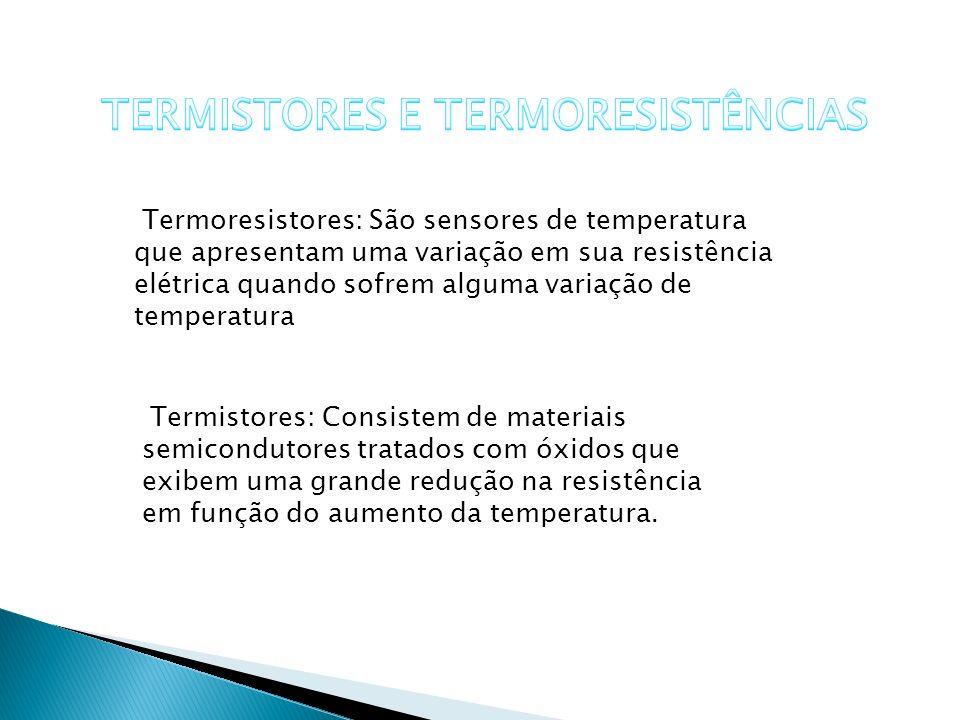 TERMISTORES E TERMORESISTÊNCIAS