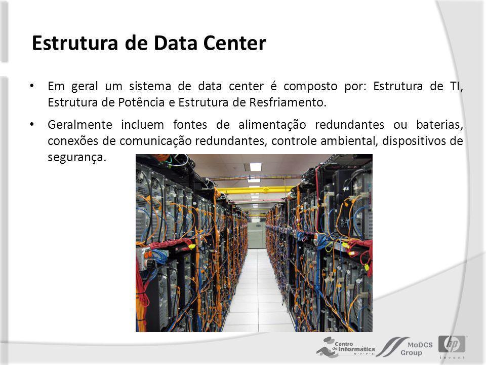 Estrutura de Data Center