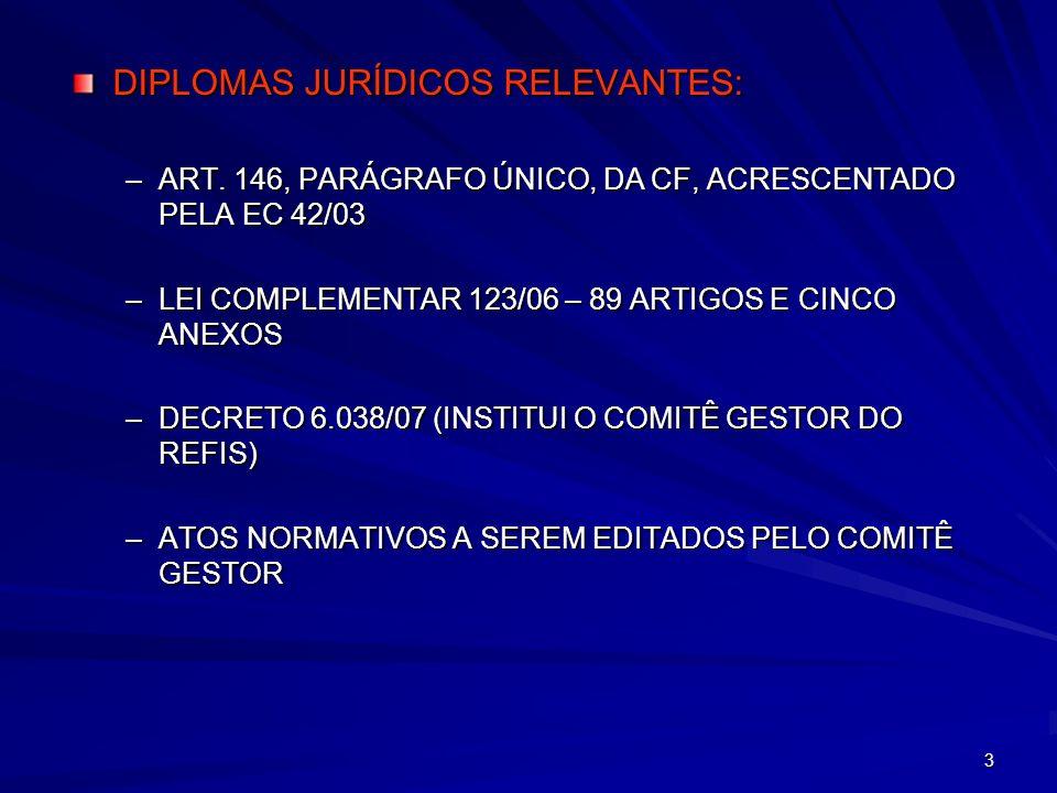 DIPLOMAS JURÍDICOS RELEVANTES: