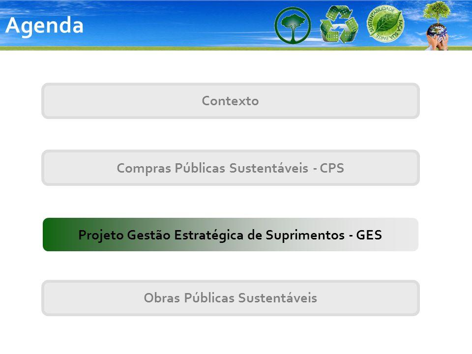 Agenda Contexto Compras Públicas Sustentáveis - CPS