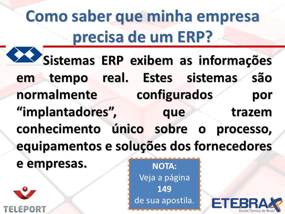 Como saber que minha empresa precisa de um ERP