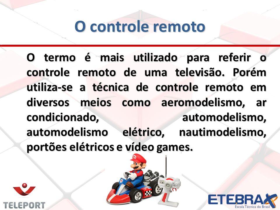 O controle remoto
