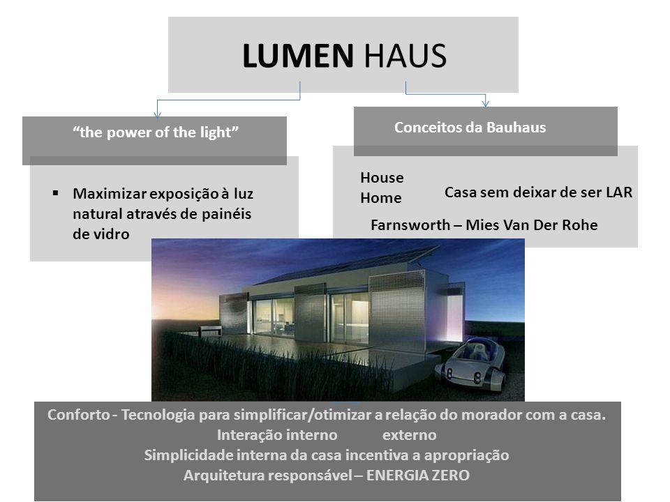 LUMEN HAUS Conceitos da Bauhaus the power of the light House Home