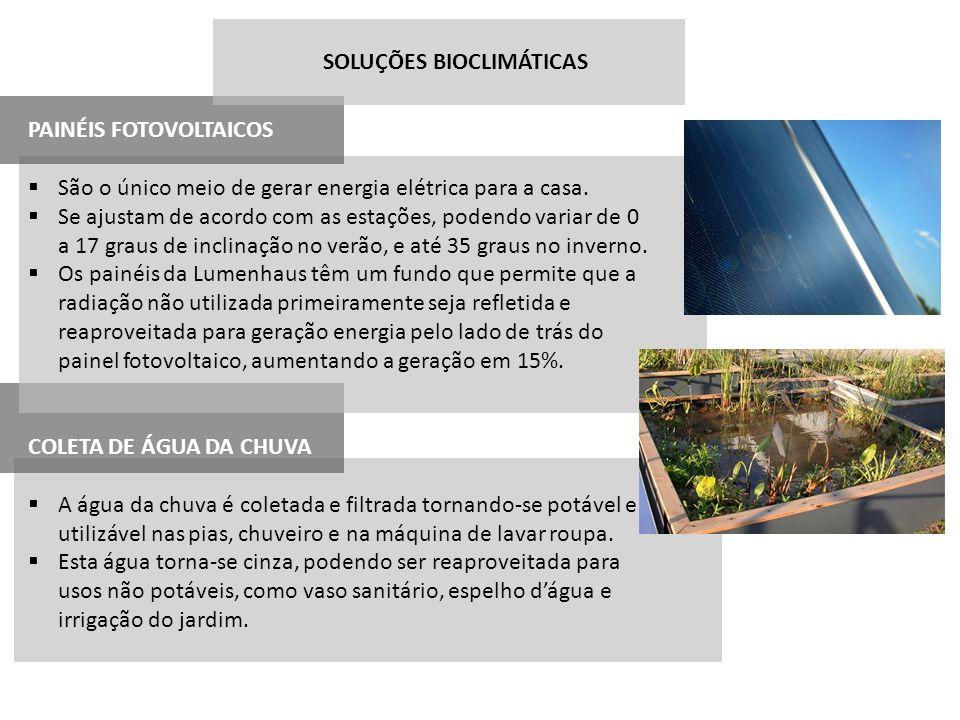 SOLUÇÕES BIOCLIMÁTICAS