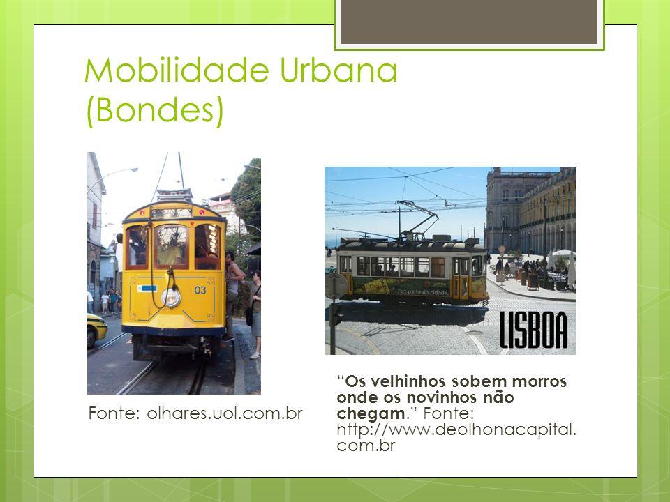 Mobilidade Urbana (Bondes)