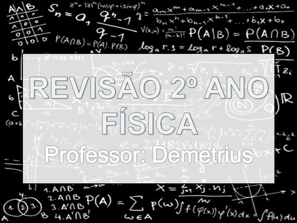REVISÃO 2º ANO FÍSICA Professor: Demetrius