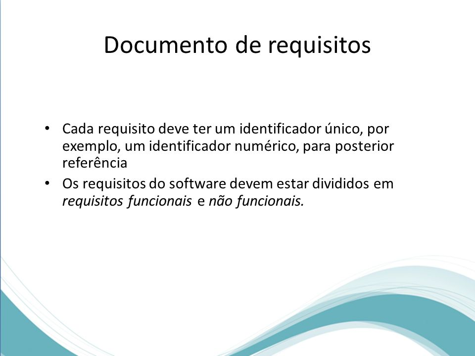 Documento de requisitos