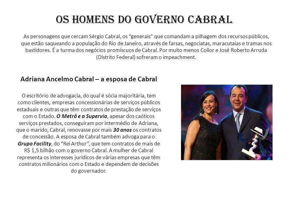 Os Homens do Governo Cabral