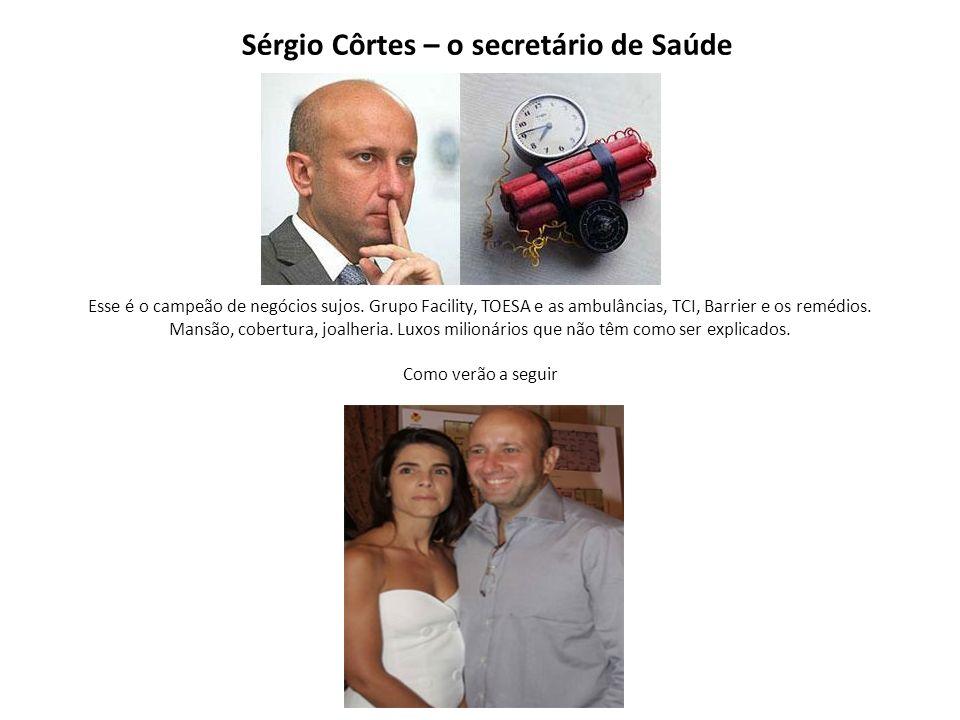 Sérgio Côrtes – o secretário de Saúde