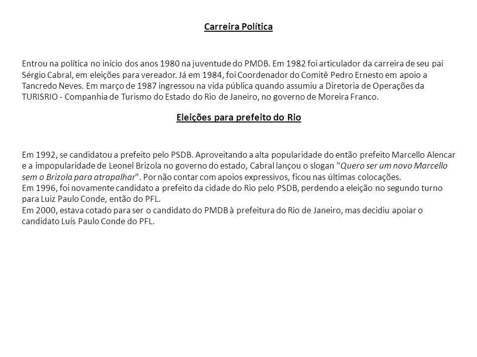 Eleições para prefeito do Rio